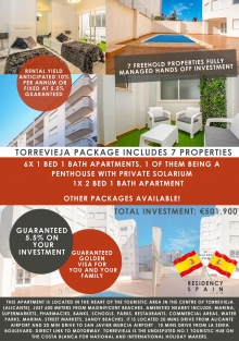 Residency Package Option In Torrevieja